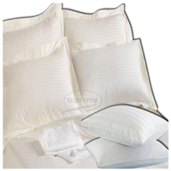 300TC Stripe Pillow Covers