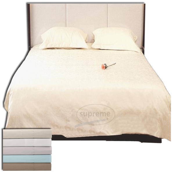 400 tc plain bed sheets