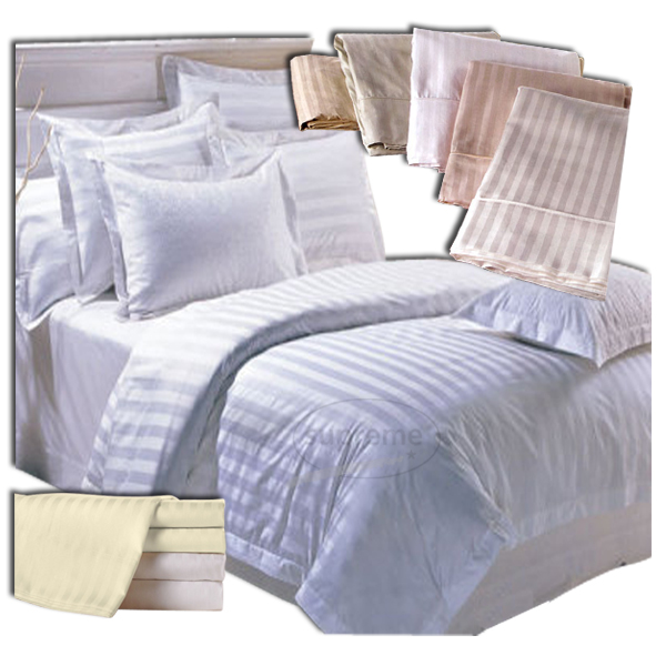 400 tc Stripe bed sheets