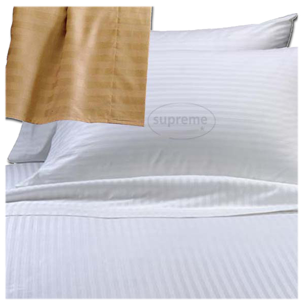 400TC Stripe satin Duvet covers